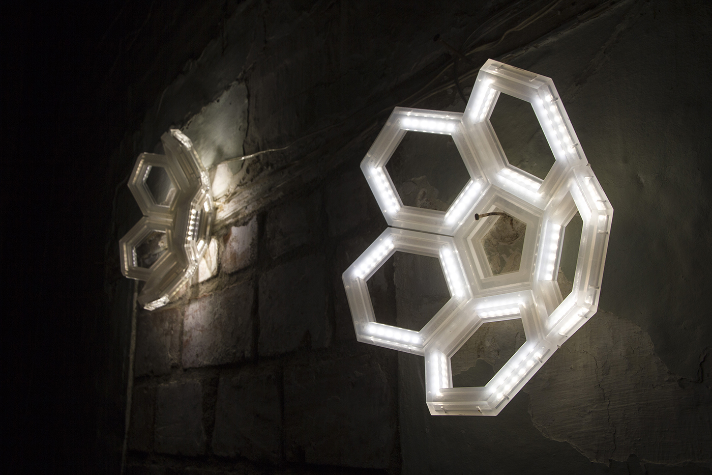 C5 wall lamp and led applique