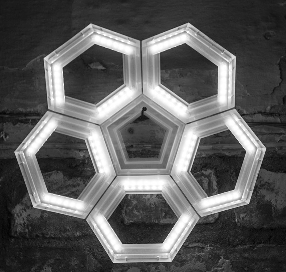 C5 lampade da parete a led, luce diretta