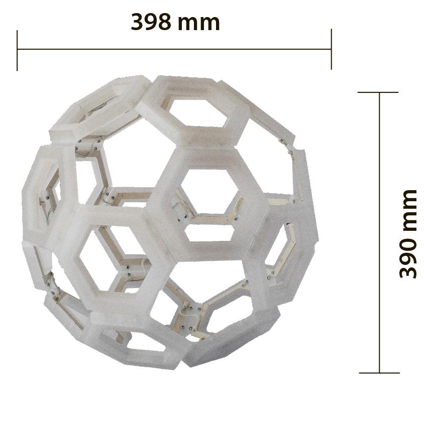 c60 lampada a sospensione, ceiling lamp design